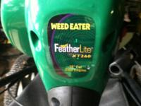 FeatherLite Weedeater XT260, 25 cc engine with 16""