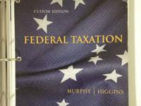 Federal Taxation. BSU Spring 2014.  ISBN: