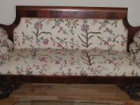 I have an Federalist Style antique sofa with