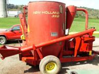 New Holland 358. New Avery scales with all new load