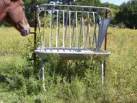 Custom welded for use with portable panels. Have the