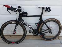 2013 Felt B-14 (carbon), size 56, Shimano pedals, 3