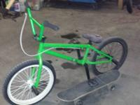 I have a good Felt bmx bike for sale. It's hardly been