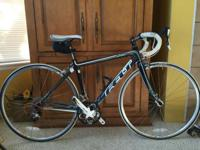 Gently used Felt road bike for sale. Always stored