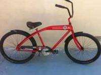 Felt red baron cruiser in awesome shape.adult riden and