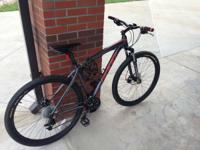 For sale is a Felt 29in Men's trail bike. Only been on