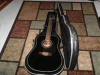 This Fender (DG-16E-12 BLK) 12 String Acoustic Electric