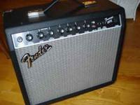 FENDER 25R FRONTMAN AMP IN ABSOLUTLY PERFECT CONDITION.