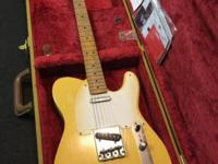 Fender 50s road worn telecaster the year is