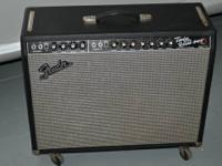 This amp is in perfect condition, hardly used at all,