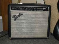 fender 75 watt amp and a silvertone