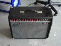 This is a Fender 85 amp, 200 watts. Plenty loud and has