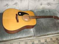 left handed fender dg-10LH NS used but in good shape