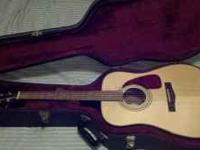 Hello, I have a really nice Fender DG21S Nat Guitar