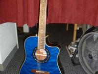 I HAVE FOR SALE A FENDER ACOUSTIC/ ELECTRIC GUITAR.