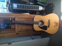 A beautiful, in great condition, six-string,