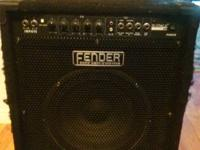 Fender bass combination amp in excellent condition,
