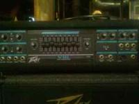 I am selling my Peavey bass rig due to recent back