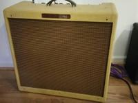 Excellent condition. It's a Fender Bassman, so it