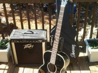 Fender BG-31 Acoustic Bass Guitar, Ibanez Hard Case,