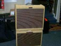 LIKE NEW CONDITION,FENDER BLUES DEVILLE TWEED TUBE AMP