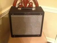 Up for grabs is a Like New Fender Blues Junior and the