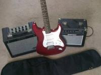 Lovely Fender strat affinity series electrical guitar