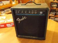 Fender BXR Fifteen Bass Amp - nice little amp, in