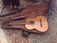 Fender CDN-90 classical guitar, purchased in 2007 and