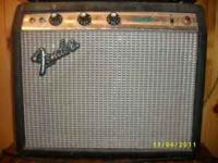 1970's Fender Champ Needs about $100 worth of work