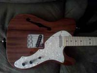 I have an almost new Fender Classic Vibe Squire