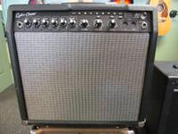 My Fender Cyber Champ guitar amp is now on consignment.