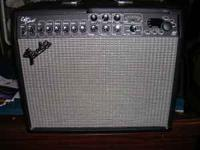 Selling my Fender Cyber Deluxe Amp. Great shape. Comes