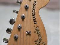 Fender Deluxe Player's Strat. Has 7 way switch that