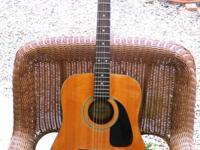 nice older made in korea used fender acoustic