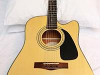 Fender DG10CE Acoustic-Electric Guitar is a great