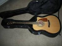 Fender Electric Acoustic CD-220SCE Bubinga Exotic (very
