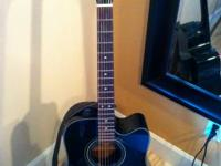 Offering a Fender Electric Acoustic Guitar. This is a