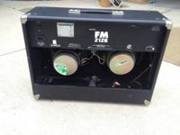 I am selling my Fender FM212R amplifier. This thing is
