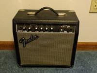 This is a Fender Frontman 15G Guitar Amp. It's been