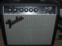 For sale a barely used like new Fender Frontman 15G