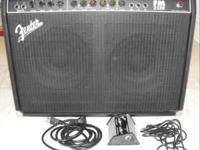 The Fender Frontman 212R Guitar Combo Amp is a