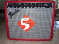 I am selling my Fender Frontman 25R. This little amp is