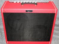 The Fender Hot Rod DeVille 212 III LTD Red October tube