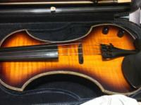 Selling a Fender FV-3 electric violin. The violin has