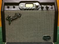 This is a Fender G-DEC 15-watt guitar amplifier. It