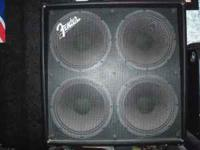 This is a Fender GE 412 Speaker Cabinet in excellent