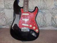 -Nice fender guitar with little mark on the front for