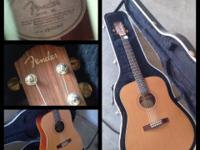 fender guitar acoustic DG25S - $200 obo I bought this
