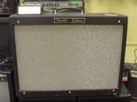 Fender Hotrod Deluxe guitar amp. Comes with a Fender